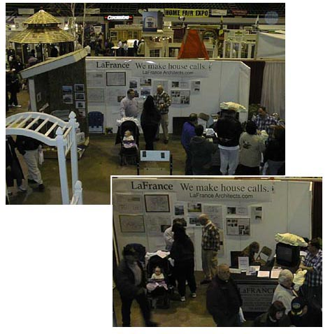 Trade shows lafrance architects for Residential architects rochester ny